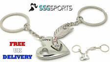 NEW MOTHERS DAY LOVE YOU KEYRING KEYCHAIN FOR HIM HER LOVE COUPLES GIFT PRESENT