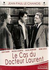 """DVD """"Le Cas du docteur Laurent""""Jean-Paul Le Chanois-Jean Gabin NEUF SOUS BLISTER"""