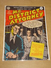 MR DISTRICT ATTORNEY #14 G+ (2.5) DC COMICS MARCH 1950 **