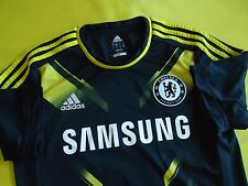 5/5 CHELSEA LONDON 2012/2013 THIRD SHIRT JERSEY ADIDAS ORIGINAL FOOTBALL SIZE L