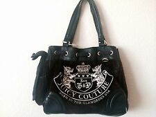 Brown and Black Juicy Couture Purse