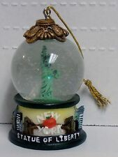 New York, Statue Of Liberty, 45mm Snow Globe Ornament, by Silverstone, BRAND NEW
