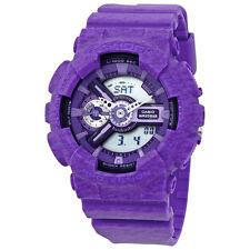 Casio G-Shock Purple Resin Ladies Watch GMAS110HT-6ACR
