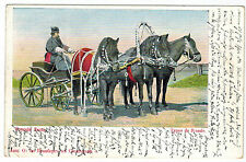 Russian Troika, Russian Types, Russia, 1909 used in Bayern/Germany