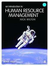NEW - An Introduction to Human Resource Management by Wilton, Nick