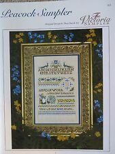 10% Off Victoria Sampler Counted X-stitch Chart - Peacock Sampler