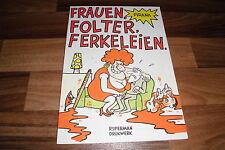 Pirana -- FRAUEN, FOLTER, FERKELEIEN  // Tiefschwarzer Humor vom Feinsten  1983