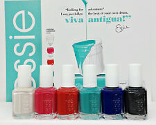 ESSIE Nail Lacquer- Viva Antigua! Summer 2016 - All 6 Shades 990-995