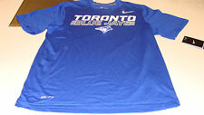 2013 Toronto Blue Jays M Tee Shirt Dri Fit Performance Matel Logo SS MLB