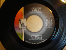 """ETERNITY'S CHILDREN """"From You Unto Us /Alone Again"""" PROMO Psych LIBERTY NM Stock"""
