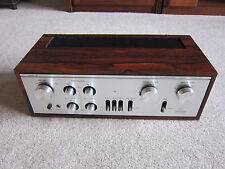 LUXMAN L30 STEREO INTEGRATED PREAMPLIFIER / AMPLIFIER IN ROSEWOOD! NEAR MINT!