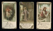 lotto santini-holy cards lot-lot images pieuses-konvolut heiligenbildichen 2424