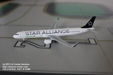 Phoenix Models Eva Air Airbus A321 in Star Alliance Color Model 1:400