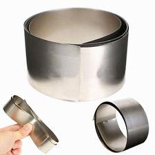 Silver Gray Nickel Ni Metal Foil Plate Thin Sheet Belt 0.1mm x 30mm x 1000mm