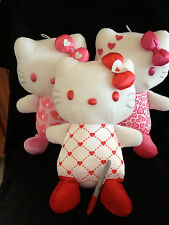 -LARGE-VALENTINES DAY--One BIG KITTY HEART Plush from Japan-ship free