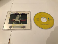 MADONNA German YELLOW SIRE CD Single Lucky Star US Remix I know It 2 Trk Rare NM