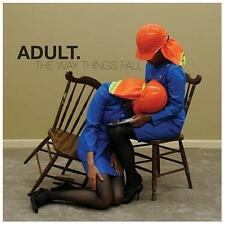 ADULT. The Way Things Fall CD NEW Ghostly International GI-181 electronic