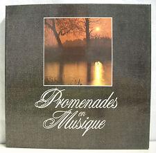 """9 x 33T Coffret PROMENADES MUSIQUE Vinyls LP 12"""" DE VIENNE A ROME -VIN FEMMES ET"""