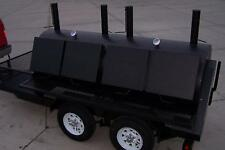 3696 Rotisserie BBQ Grill, Smoker, Cooker on Trailer by HEARTLAND COOKERS