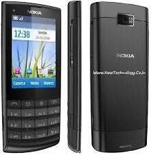 Nokia X3 02 Touch Screen Mobile Phone (Colours: Black, White on Silver)