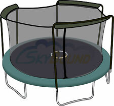 15' (Frame Size) Trampoline Net FITS 3 Arch Enclosure FITS Bounce Pro (Net Only)