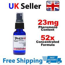 PHEROMONE SPRAY 30ml COLOGNE for women UK SELLER *ATTRACT MEN! 52X ANDROSTENONE*