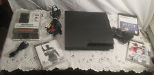 Sony PS3 Slim 160GB CECH-3001A plus free games PlayStation 3