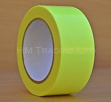 Hi Viz Cloth Tape Fluorescent Yellow Reflective WaterProof Self Adhesive Visible