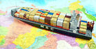 MSC ATLANTIC Container Ship. Panama.approx 1/500th Model Kit. Model Ship /354