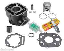 Pack Cylindre Piston Joints Cage Bougie Filtre Pour Derbi Senda 50 Euro3 2006 -