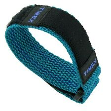 16mm Timex Fast Wrap Nylon Aqua Green Sports Watch Band