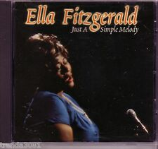 ELLA FITZGERALD Just Simple Melody CD Classic 50s 60s Pop Great Make Love To Me