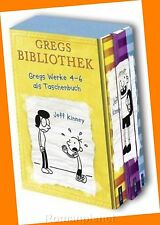 Jeff Kinney - Gregs Tagebuch Band 4-6 - Band 4+5+6 im Schuber - Neu - Buch - OVP