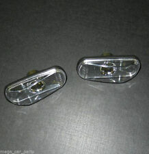 NEW Side Wing Indicators Repeaters Lens Lamp Light SAAB 9-3 9-5 900 9000 - CLEAR