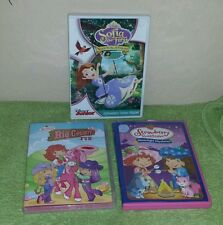 Strawberry Shortcake / Sofia the First - Lot of 3 Kids DVD's