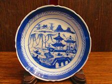 17th.18th.Century Blue&White Chinese porcelain Plate (YU Jade Mark )