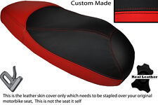 RED & BLACK CUSTOM FITS HONDA X8R X8RS 50 DUAL LEATHER SEAT COVER ONLY