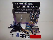 1984 Transformers G1 **SKYWARP** MIB 100% Complete w/ Box NEAR MINT C9