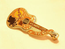 ATLANTIC CITY gold dead Rocker Buddy Holly acoustic Guitar B17-190 Hard rock pin