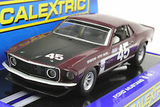 SCALEXTRIC C3424 MUSTANG 1969 TRANS AM BOSS 302 PETTEY RACING NEW 1/32 SLOT CAR