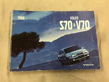 Volvo S70 / V70 Owners manual  96 - 00