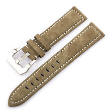Tera 20mm Nubuck Leather Replacement Part Bracelet Watch Band Strap Gift Buckle