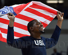 Kevin Durant USA Men's Basketball Gold Medal 2016 RIO Olympic 8x10 Photo