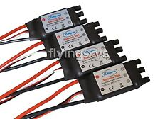 4x HP SimonK 30A ESC Brushless Speed Controller Regler for Quadcopter F450 S500