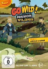 GO WILD! - MISSION WILDNIS - ( FOLGE 1 ) DVD Z. TV-SERIE KROKO-KINDER DVD NEU
