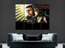 BLADE RUNNER MOVIE HARRISON FORD SCI FI PELÍCULA ARTE DEL CARTEL DE LA PARED IMAGEN GRANDE GIGANTE