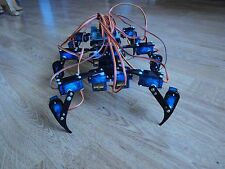 Hexapod Six Feet Robot Spider Arduino DIY Robot KIT 18DOF NO SERVOS