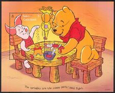 Turks & Caicos 1996 Disney Winnie the Pooh/Bear/Piglet/Animation m/s b1084