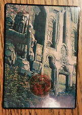 Magic the Gathering MTG Altered art The Hobbit Lord of the Rings Erebor Mountain