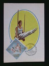 UNGARN MK 1964 OLYMPIA TURNEN RINGE MAXIMUMKARTE CARTE MAXIMUM CARD MC CM c8668